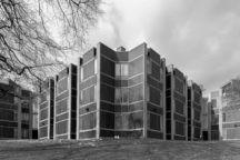 "Erdman Hall Dormitories  <br />at Bryn Mawr  <br /><span class=""opens"">Pennsylvania <br />1960—1965</span>"