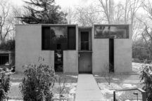 """Esherick <br />House <br /><span class=""""opens"""">Chestnut Hill <br />1960—1961</span>"""