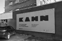 """Kahn. Bold <br /><span class=""""opens"""">by Martin Pedanik and Arne Maasik at the ARS Project Space, 2018</span>"""