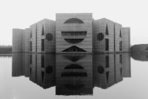 """The National Assembly <br />Building in Dhaka <br /><span class=""""opens"""">Bangladesh  <br />1962—1982</span>"""